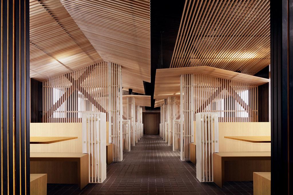 Restaurant bar design awards look out cafe japan