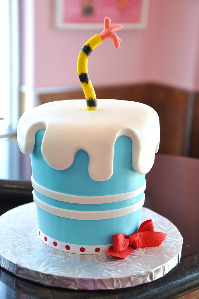 Dr Seuss Birthday Cake Hat