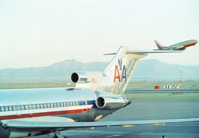 boeing 727223adv n867aa american airlines albuquerque i