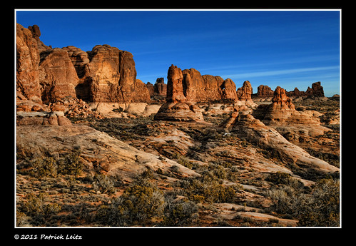Garden Of Eden Arches National Park Utah Usa By Patrick Leitz
