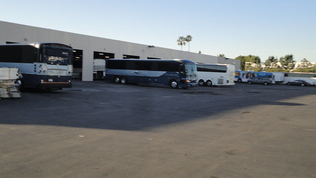 Greyhound Motor Coaches At Abc Bus Sales Kevin Flickr