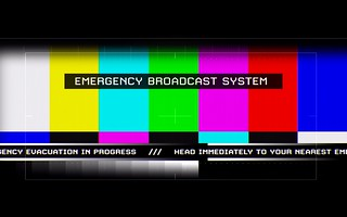 emergency broadcast system | by Pipe Loyola M