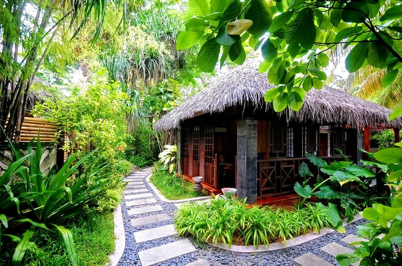 Tropical Island Beach Hut: Tropical Hut. Aaramu SPA, Sun Island Resort & Spa, Maldive
