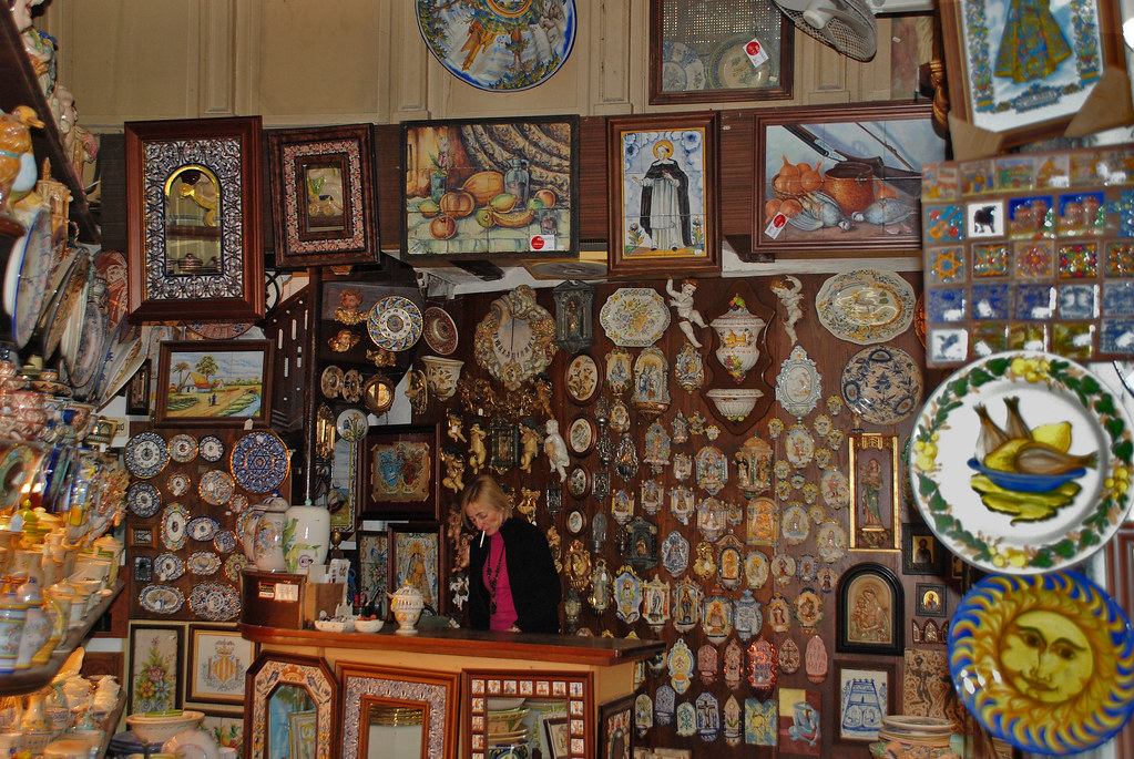 Tienda de cer mica valencia spain a veces mirando Ceramica artesanal valencia