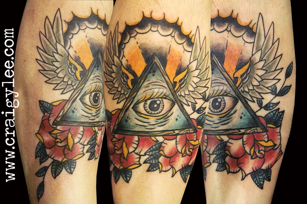 Third Eye Old School Tattoo Iknowcraig Hotmail Com Www Cra Flickr