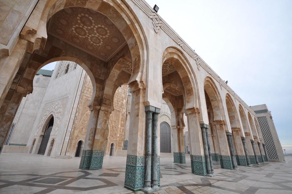 Hasan Mosque Casablanca Morocco