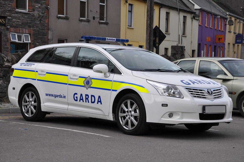 An Garda Siochana Irish Police Force Toyota Avenis Estate
