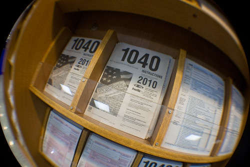 IRS 1040 Forms Post Office April 14, 20114 | by stevendepolo