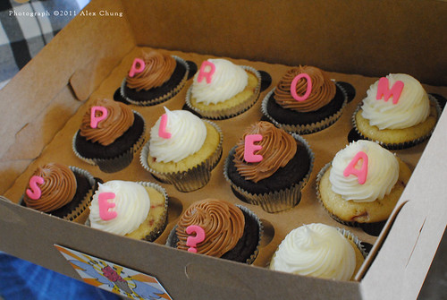 The Cute Cupcakes To Die For Prom Proposal | by Cupcakes To Die For