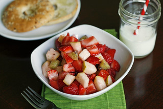 summer fruit salad with lime-vanilla bean simple syrup | by Sarah :: Sarah's Cucina Bella