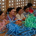 Philippines: Recycling Plastic Straps
