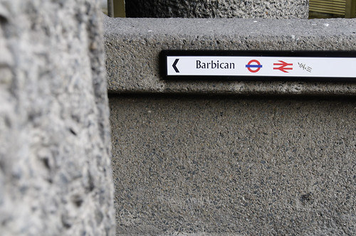 Barbican this way | by fabrikbrands.com