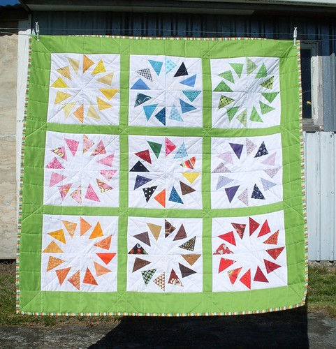 Finished quilt | by Sew Vivid (aka highway.cottage)