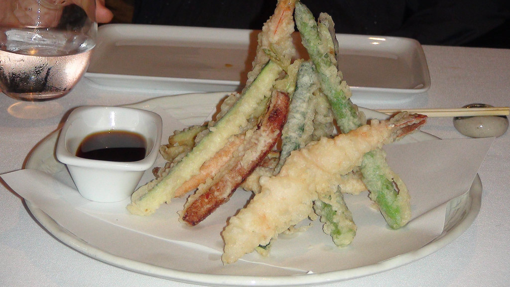 Restaurante nikkei 225 madrid tempura mixta moriawase flickr - Nikkei 225 restaurante ...