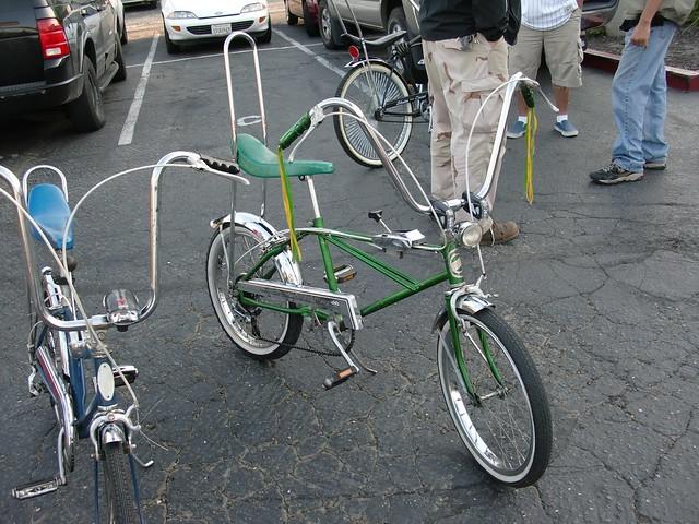 Vintage Banana Seat Bike 45
