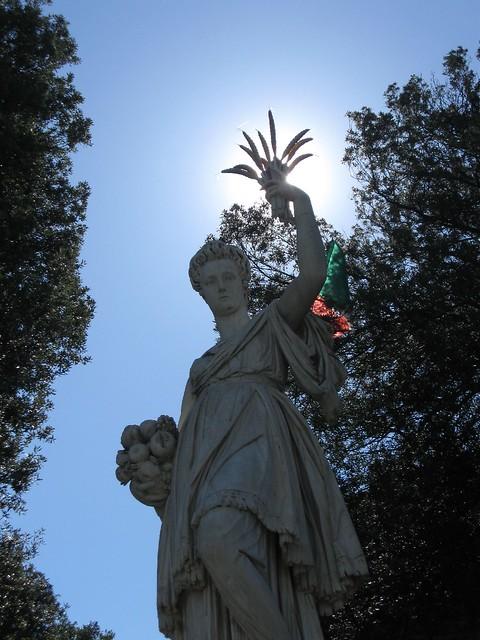 Estatua en jardines boboli flickr photo sharing for Jardines boboli