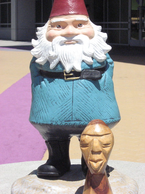the travelocity gnome flickr photo sharing