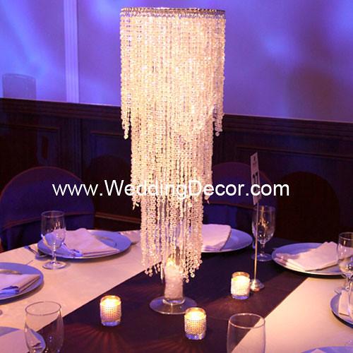 Wedding Centerpieces Crystal Chandelier An Acrylic