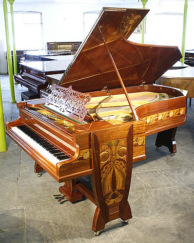 Gutermann art nouveau bechstein model c grand piano flickr for Piani art deco