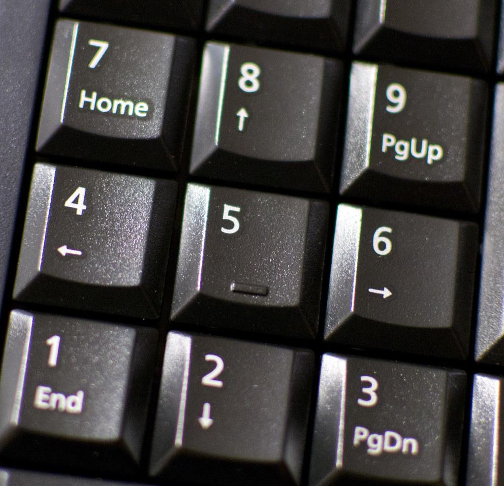 how to get a numpad