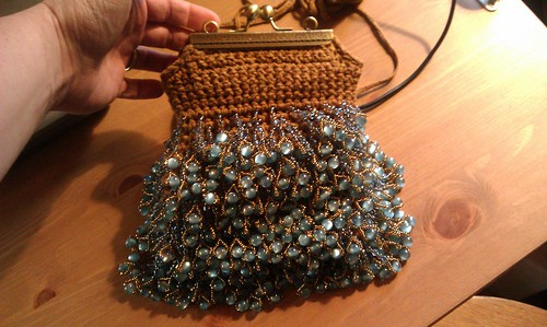 Flapper Purse in Silk | by Aberrant Crochet & Pixie Worx!