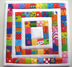 Lots of Pieces Mug Rug by mamacjt