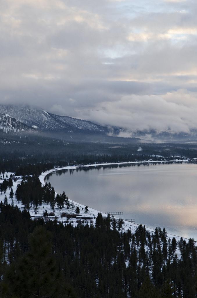 Lake Tahoe California Galaxy Note 3 Wallpapers Hd 1080x1920: Sunset On A Peak In Lake Tahoe California