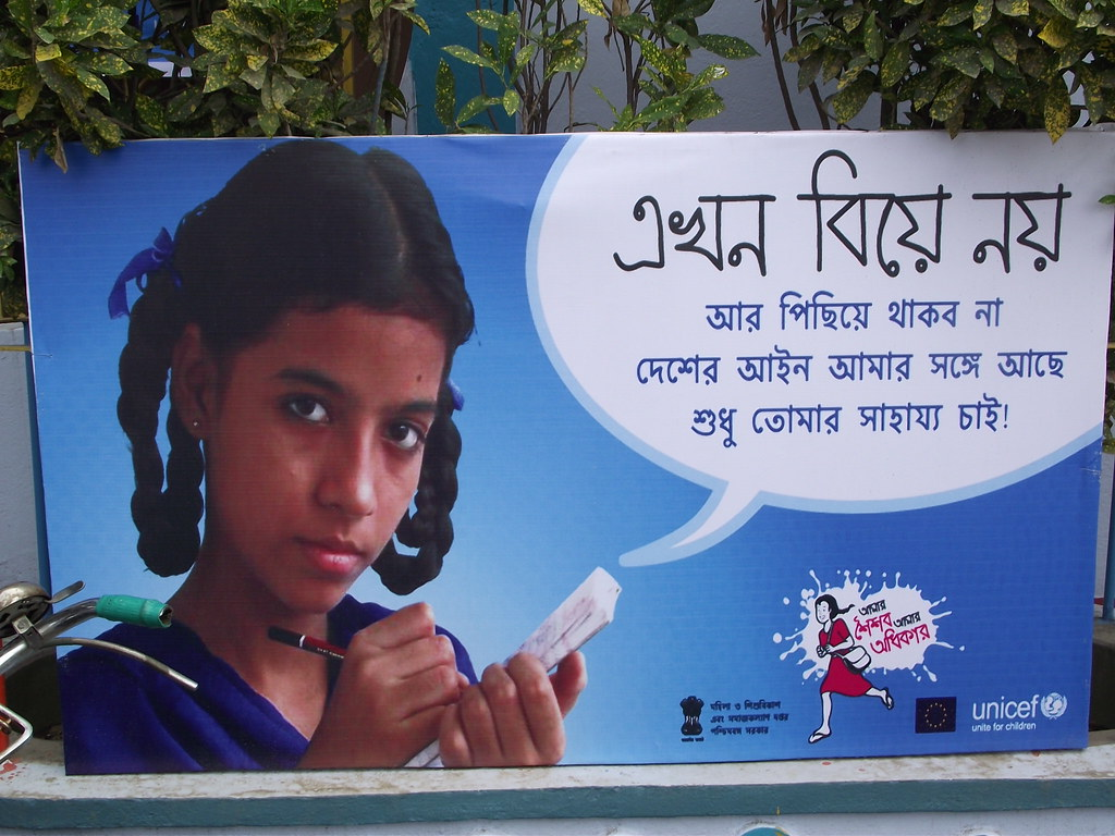 Poster of child marriage | banglanatak dot com | Flickr