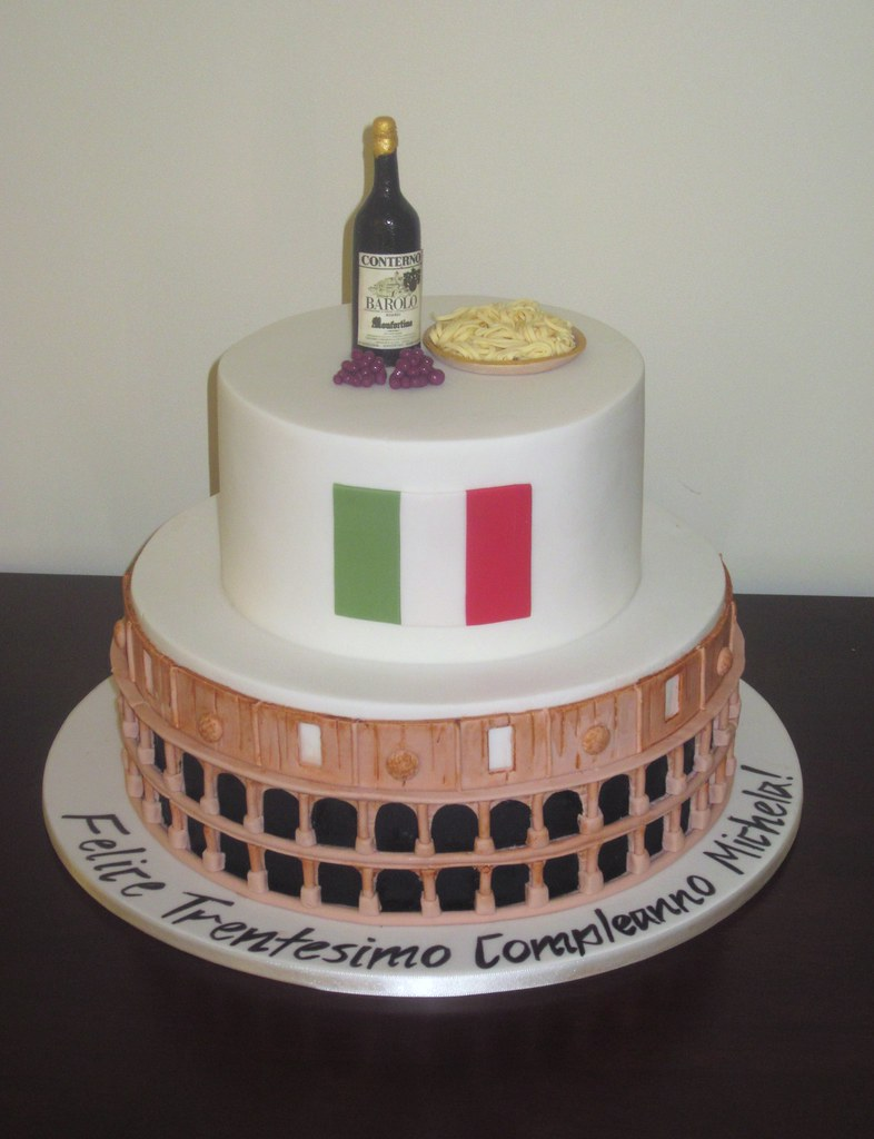 Italy Cake Well Rome wasnot built in a day... and ...