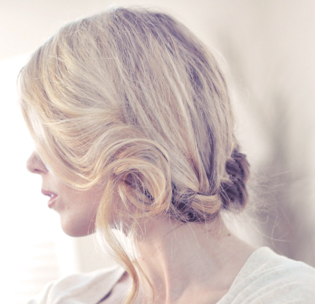 Side French Braid Natural Hair