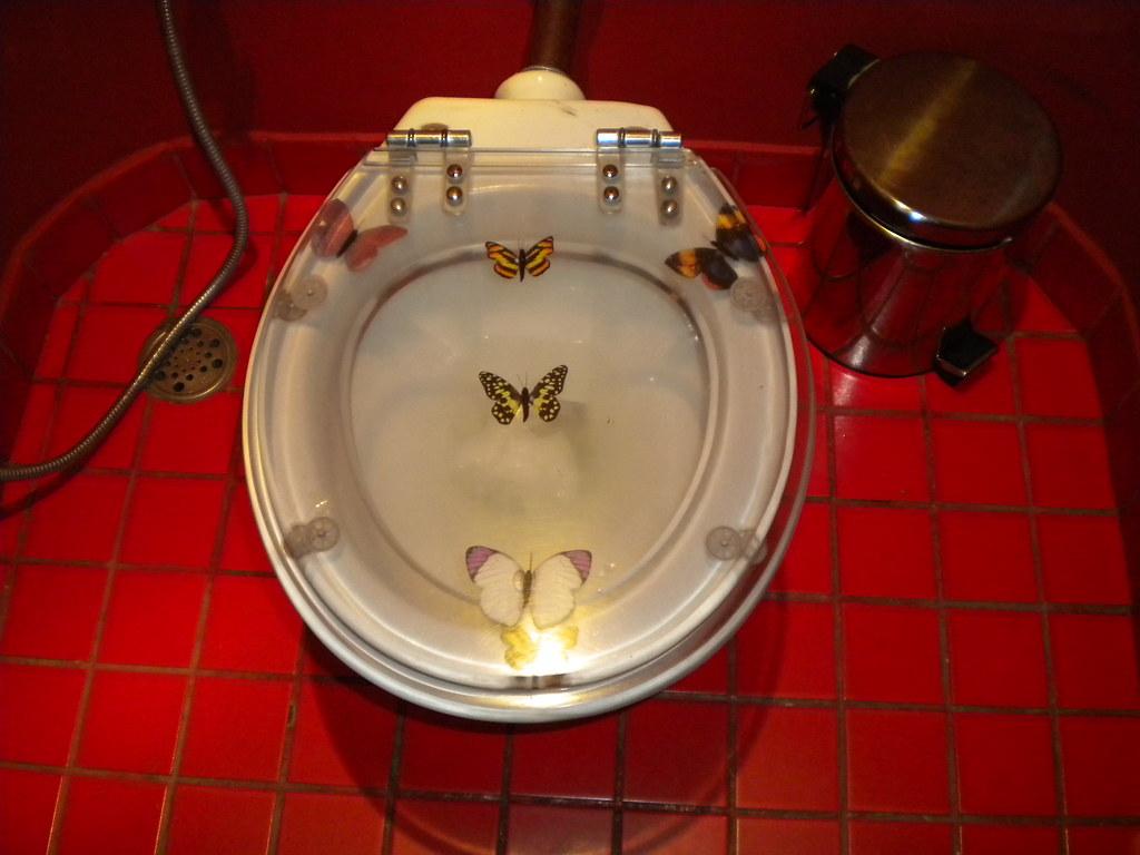 Butterfly Toilet Seat