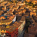 Birds-eye View of Siena, Italy, From the Top of Torre del Mangia