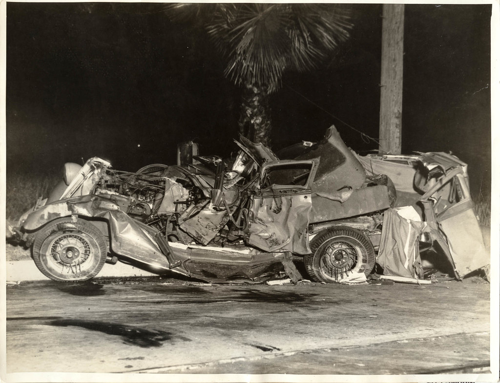 1934 Vi 08 Anon For Intl Photos Los Angeles - Car Crash T -4409