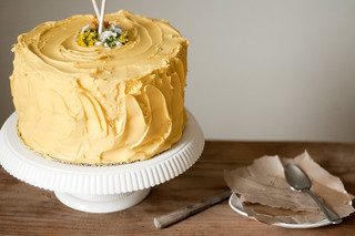yellow birthday cake | by TheSophisticatedGourmet