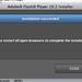 Adobe Flash Player Button?