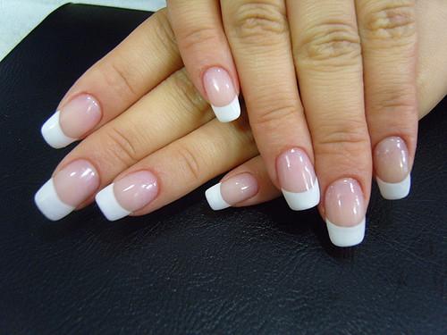 Gel French Nails - GLOW SALON