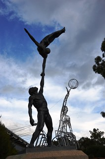 Australian Institute of Sport Statues | by FlashGordon Photography