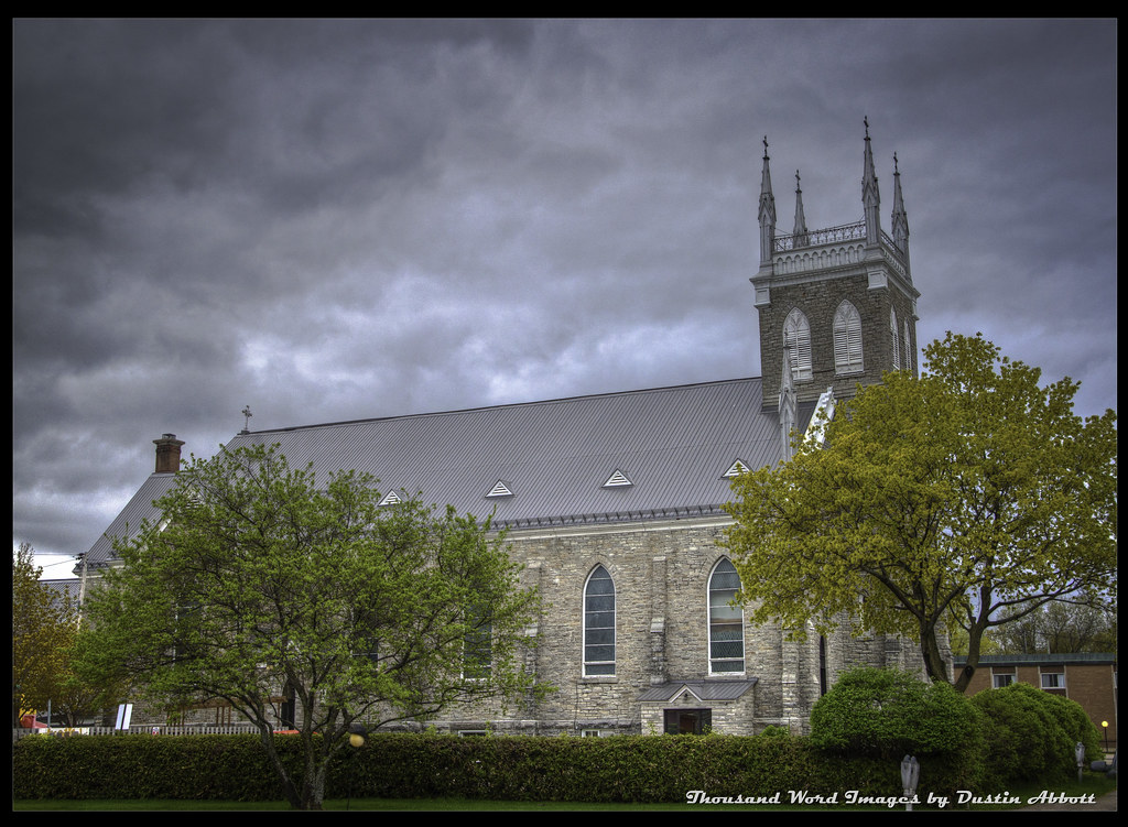 St. Columbkille Cathedral, Pembroke, Ontario | This is a ...