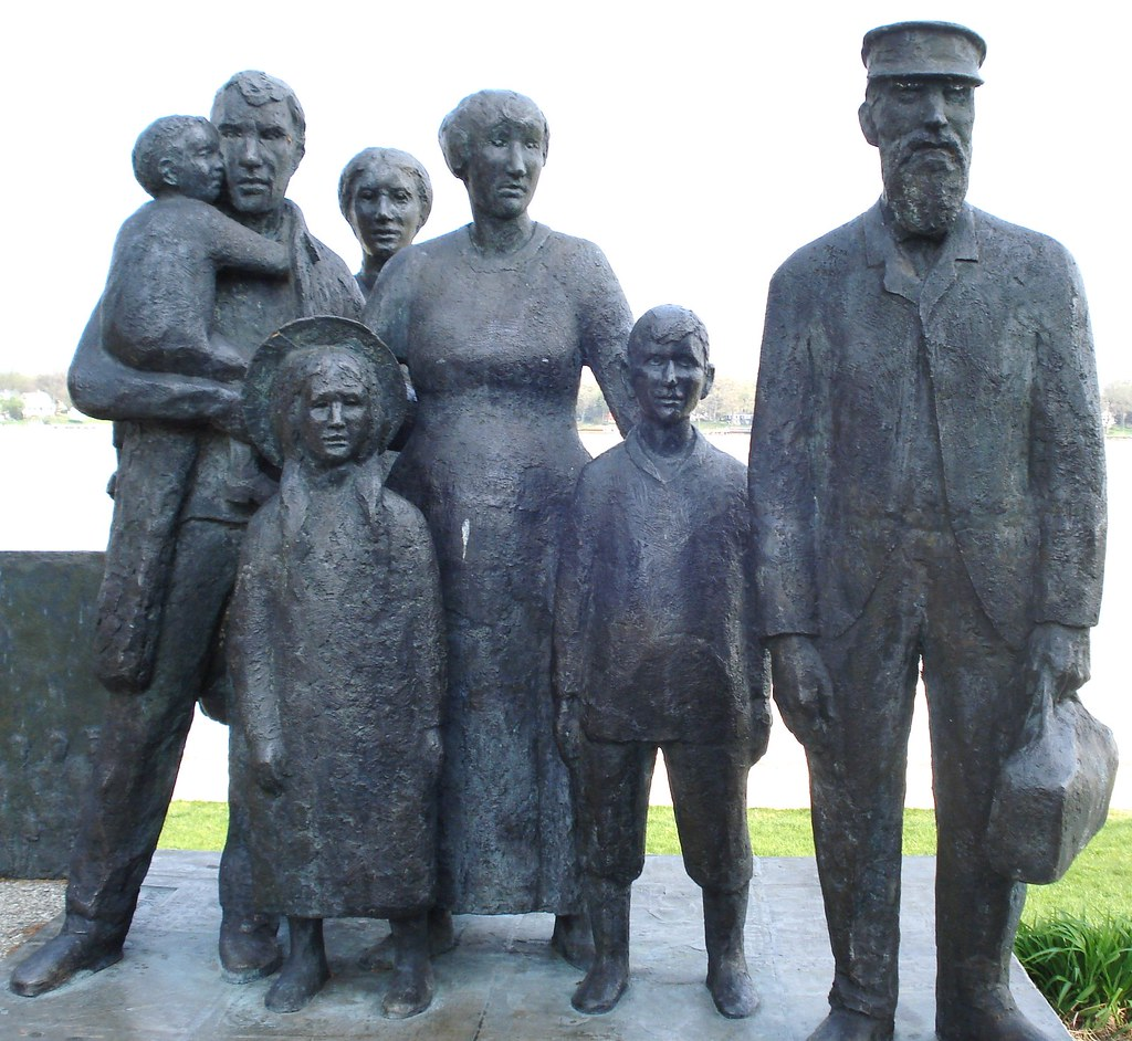 The Dutch Immigrants A Beautiful Group Of Statues Which