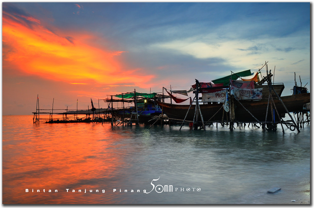 bintan indonesia tanjung pinang sunset tanjung pinang flickr