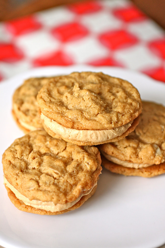 Peanut Butter Oatmeal Sandwich Cookies | Tara | Flickr