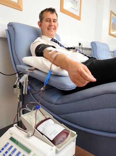 Health Minister urges people to give blood | by DUP Photos