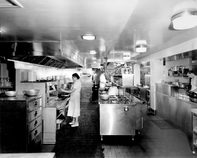 Waldorf Hotel kitchen - basement level] | Flickr - Photo Sharing!