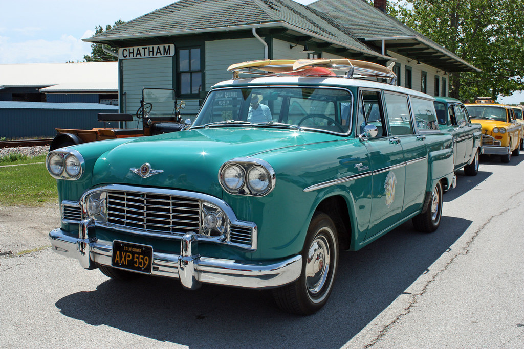 1963 Checker Marathon Station Wagon Quot Moondoggie Quot 1 Of 13