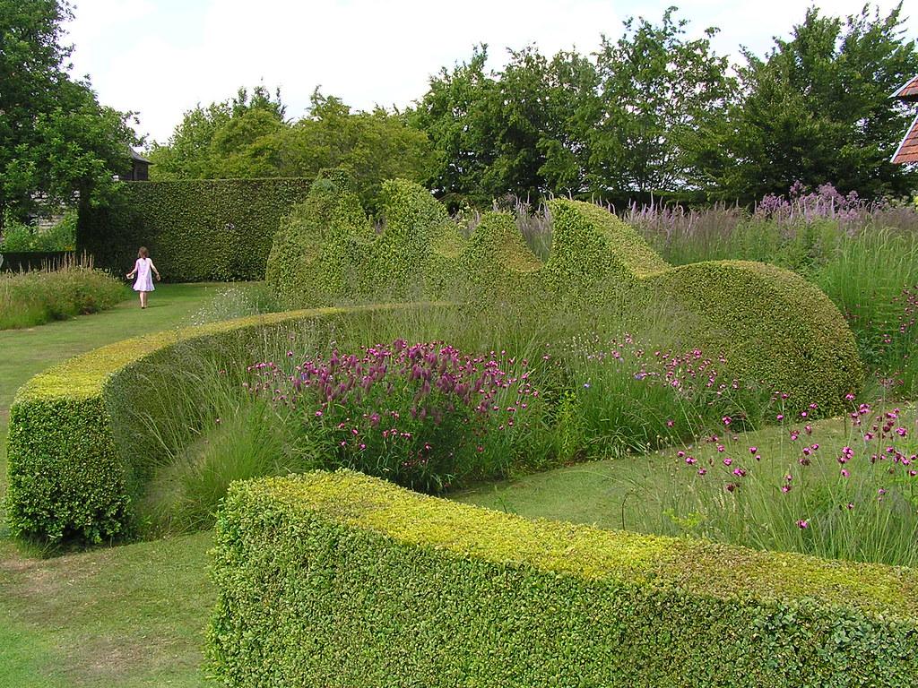 La haie de buis taill en vagues le jardin plume auzou for Le jardin plume 76