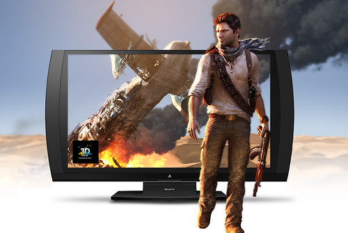 UNCHARTED 3 on the 3D Gaming Display | by PlayStation.Blog