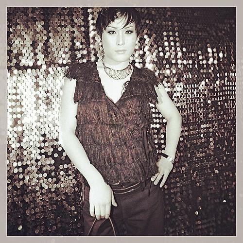 Or trait of a Korean drag queen. Club Trance in Itaewon, 2002.