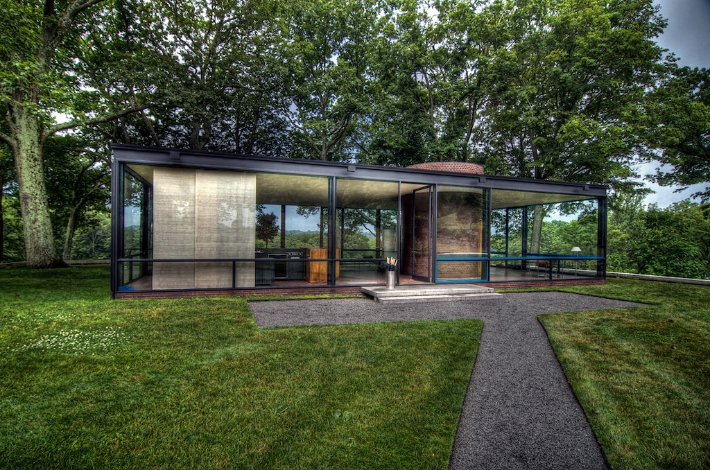 hdr photos of the philip johnson glass house we took a
