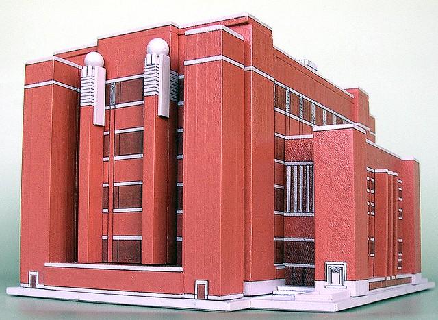 Larkin Building Frank Lloyd Wright Larkin Building by Fra...