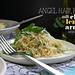 angel hair pasta w/ chile lemon & arugula